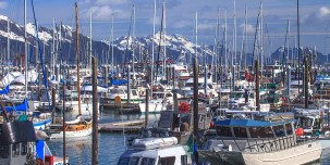Today, Seward is largely a fishing town.