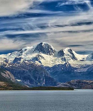 Chilean Fjords, Country Glaciers.