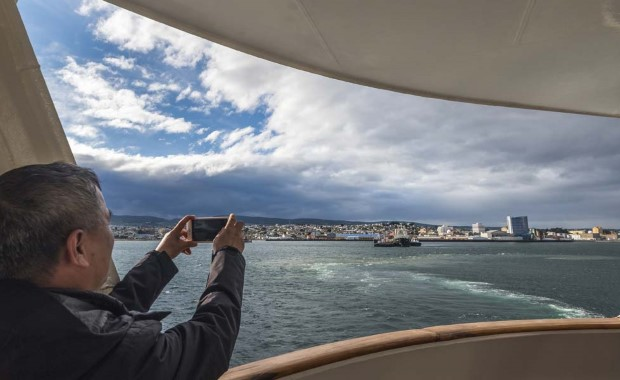 Leaving Punta Arenas behind, we set sail for the great white continent - Antarctica.
