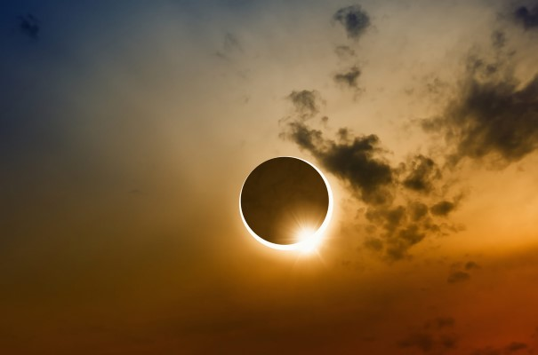 Experience the majestic spectacle of a total Solar Eclipse.