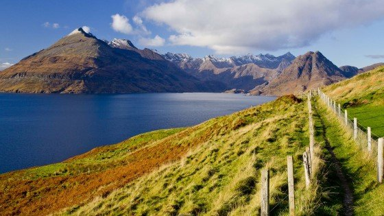 Enjoy incredible walking paths on the Isle of Skye.