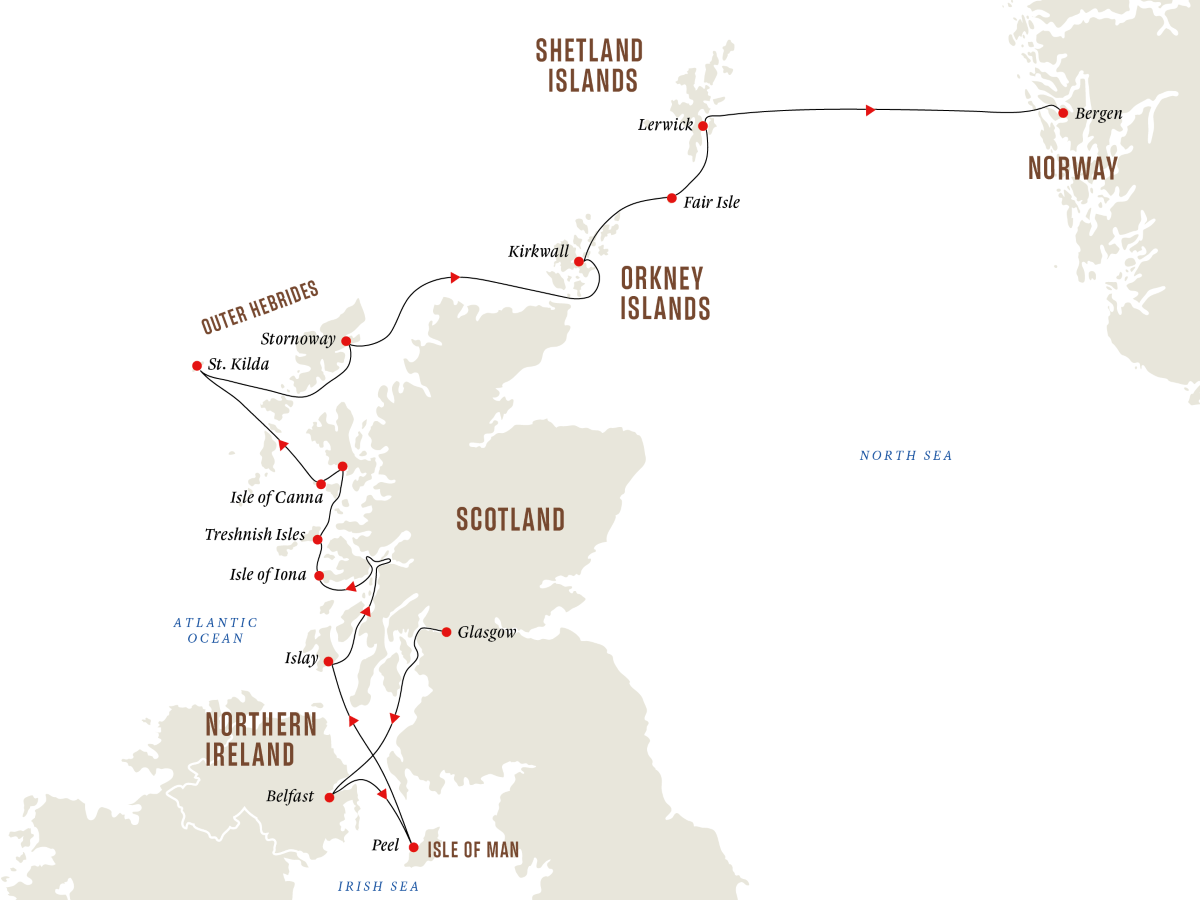 The Scottish Isles – Whisky and Wildlife from the Hebrides to the Shetlands (Northbound)