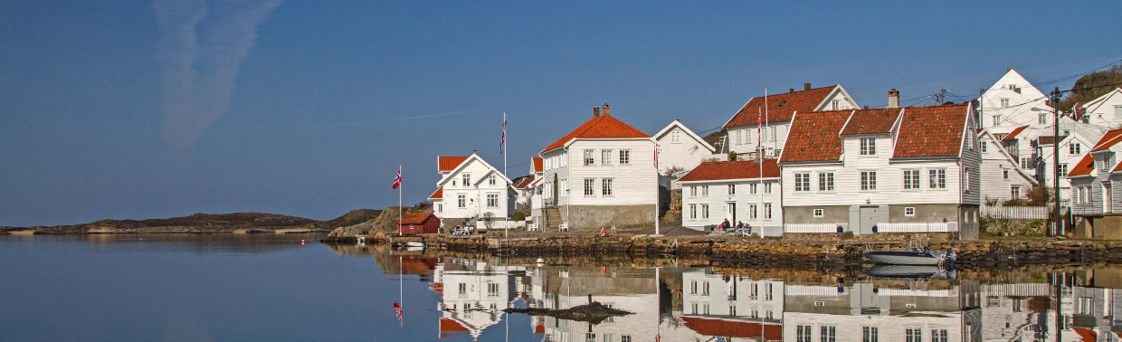 Loshavn is a small port village in Farsund in Vest-Agder county. The village is located at the mouth of the Lyngdalsfjorden, about 4 kilometres south of the town of Farsund.