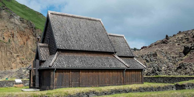 A visit to Heimaey stave church, Iceland