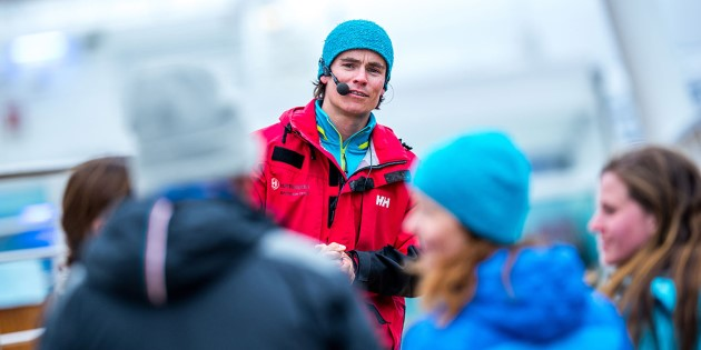 The Hurtigruten expedition team giving lectures