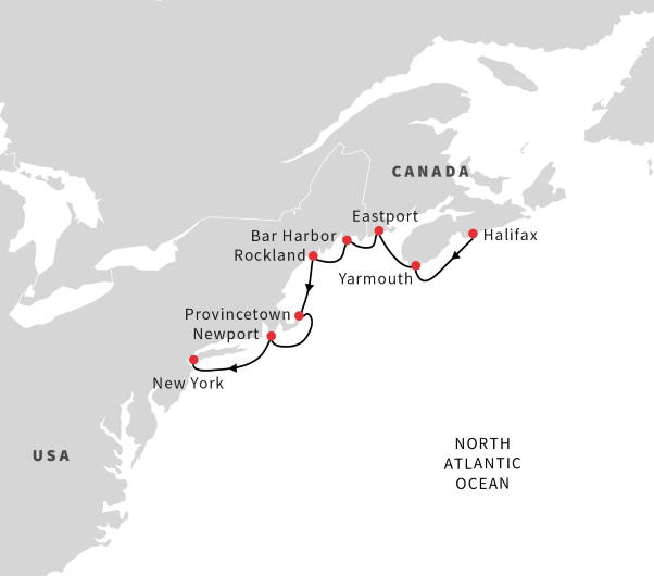 Fall Foliage 2020 New York Cruise from Halifax to NYC | September 2020 | Hurtigruten