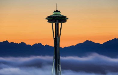 We continue north along the Pacific and arrive in Washington State's rugged coast and its mist-shrouded mountains. We call on the largest city of the Pacific Northwest, Seattle, where we will enjoy its many attractions end explore the nearby natural beauty.
