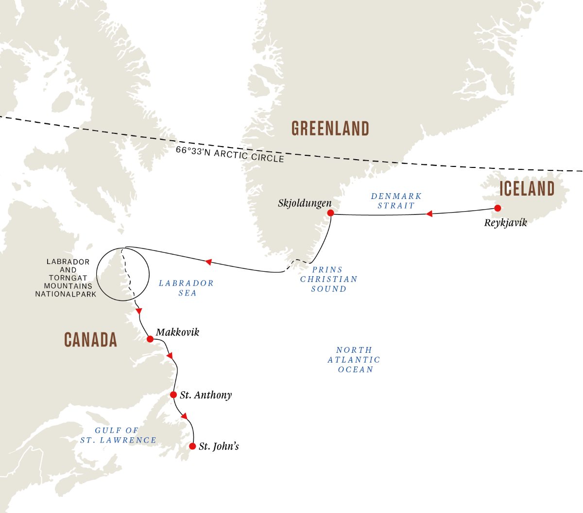 Wilderness and Ancient Cultures from Iceland to Canada