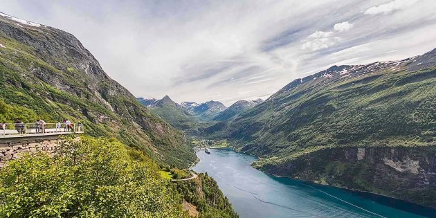 The majestic Geirangerfjord
