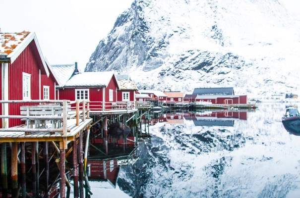 Visit Reine, one of the most photographed places in Norway.