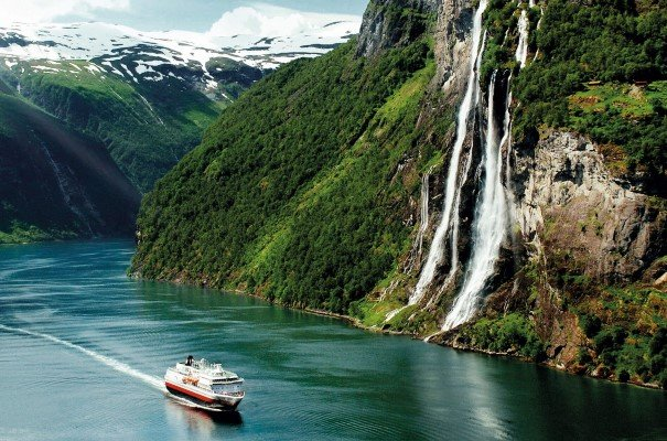 Discover some of the world's most beautiful scenery at Geirangerfjord