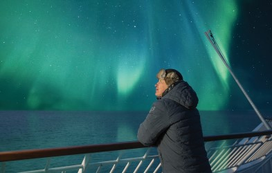 Hunt for the Northern Lights above the Arctic Circle in Norway