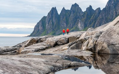 Photo of nature walk by the sea in Senja.