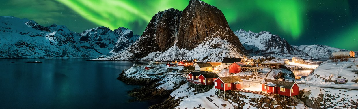 Reine is an authentic living fishing village in Lofoten, Norway.