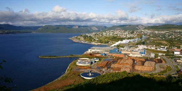 Charming Corner Brook, Newfoundland, first surveyed by Captain James Cook in 1767.