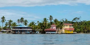 Bocas del Toro is an archipelago of islands, cays, and thousands of islets.