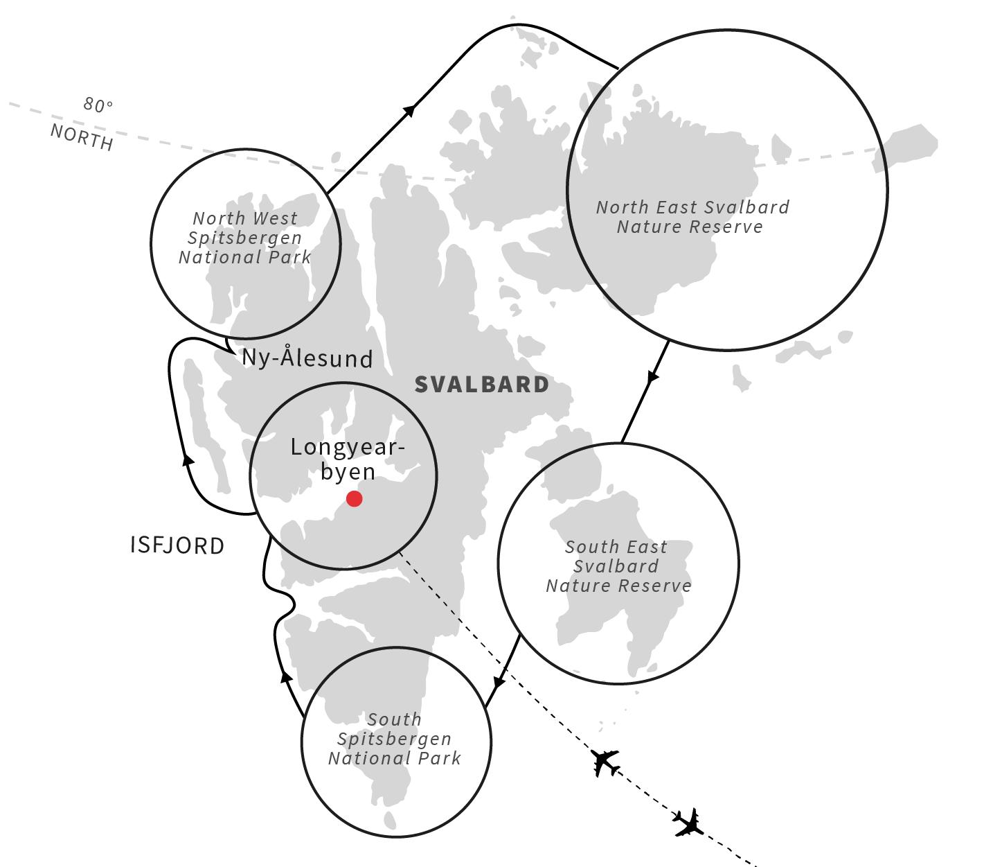Cruise Around The Svalbard Archipelago