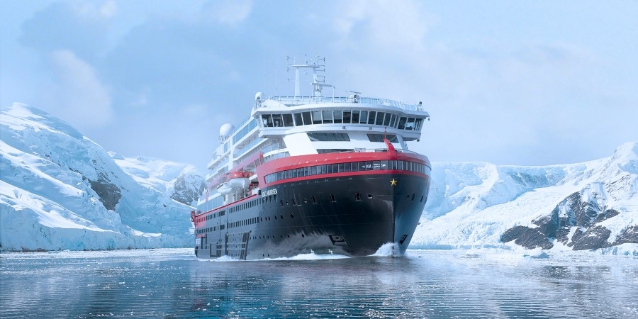 Sail with MS Roald Amundsen - the world's first hybrid expedition cruise ship