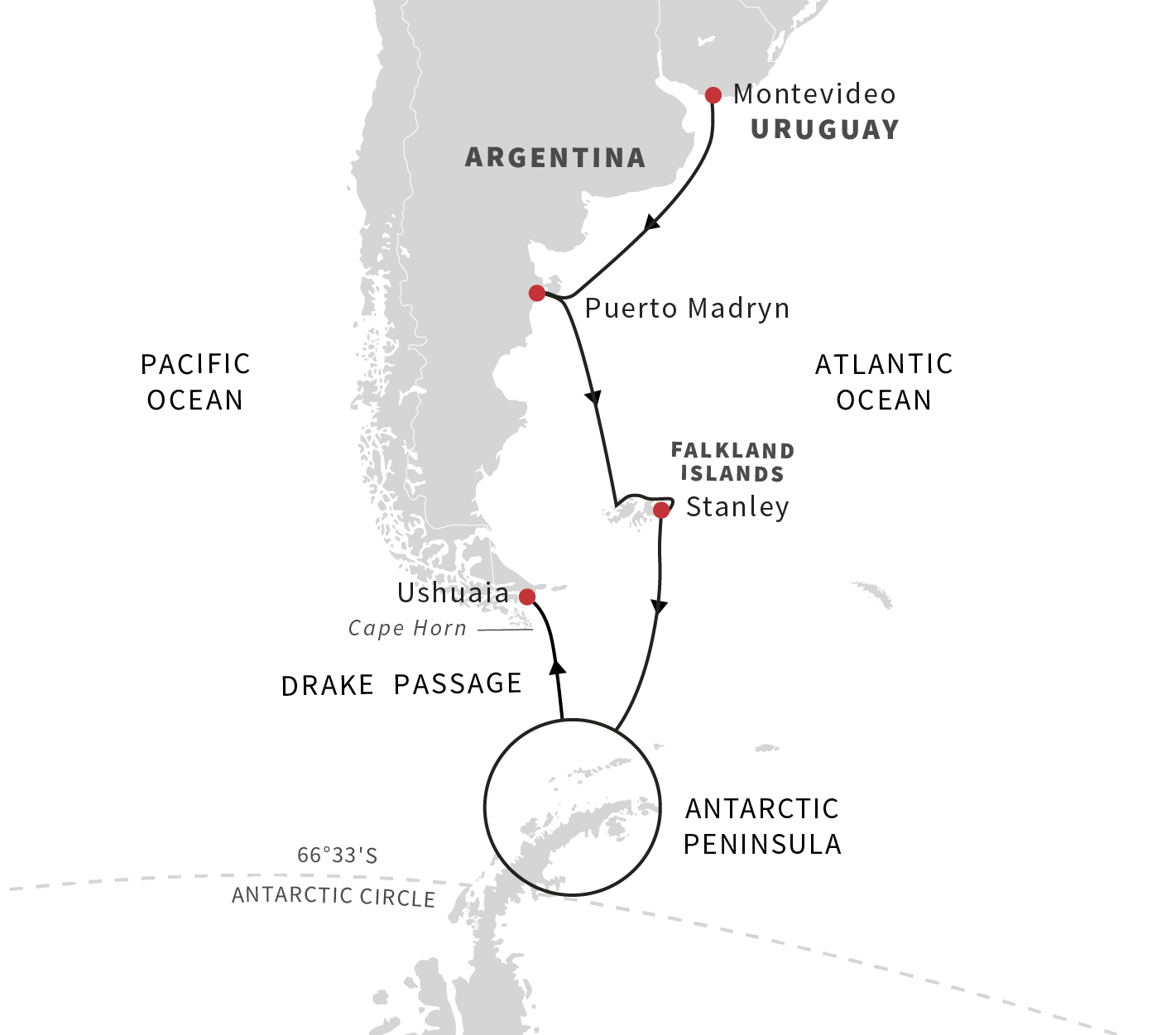 Expedition To Antarctica And Falklands 2019 Hurtigruten Argentine Tango Steps Diagram Look At This Southern Hemisphere Adventure Southbound
