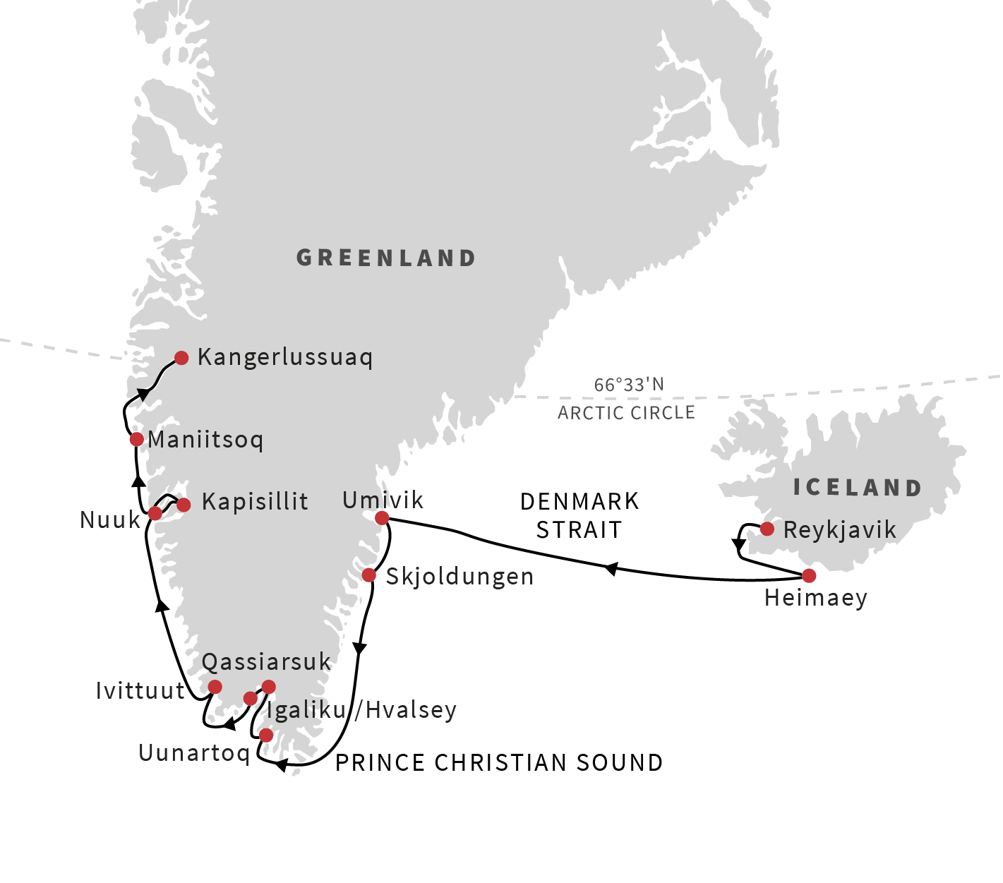 Cruise From Iceland To Greenland: The Viking Heritage