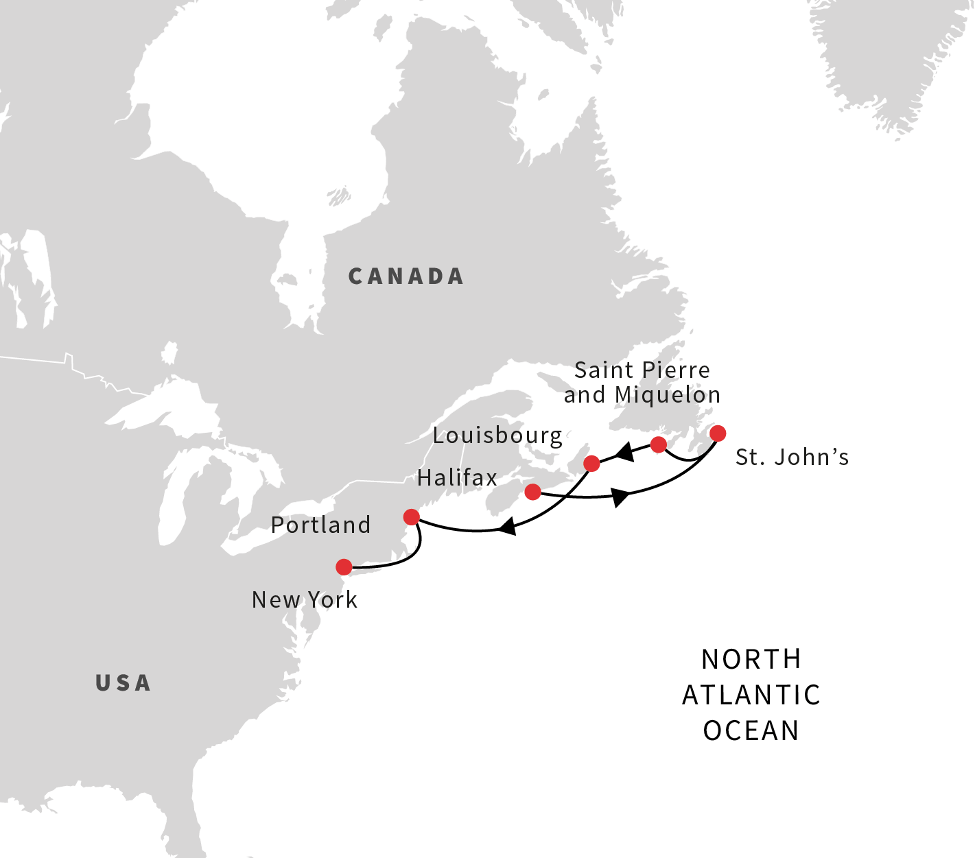 North America Cruises Exploring from the Canadian Maritimes to