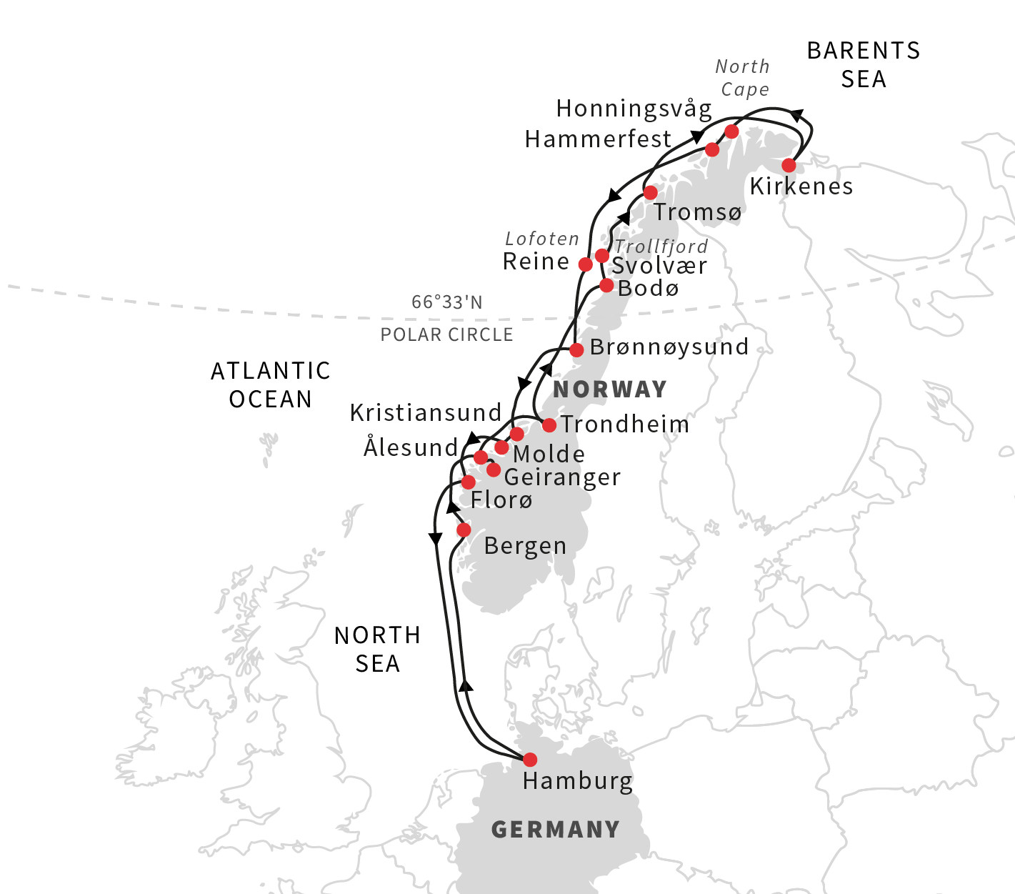 Cutting Edge Stencils Explores Island Adventures: Roald Amundsen's Norwegian Coastal Adventure