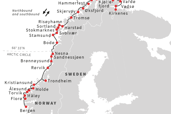 Norway The Voyage Of Discovery Bergen Kirkenes