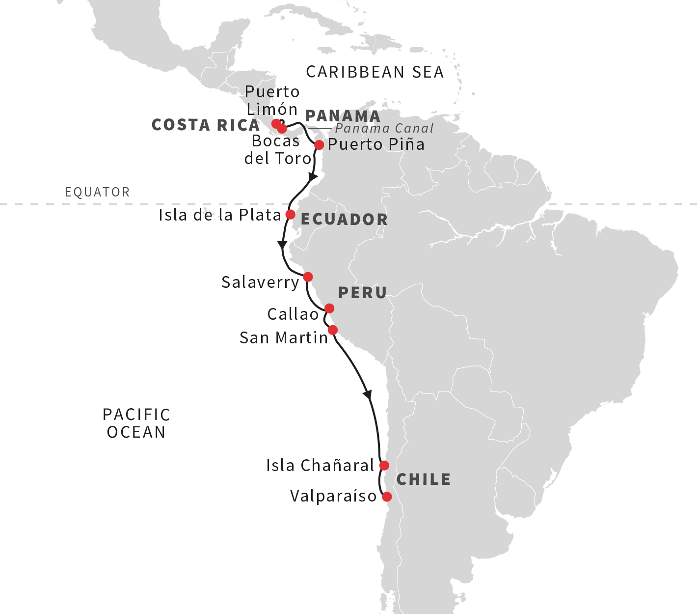 South america cruise expedition to panama canal from costa rica sail through the panama canal see the nazca lines the ancient chimu kingdom pyramids and shrines national parks and exotic wildlife before ending the gumiabroncs Choice Image