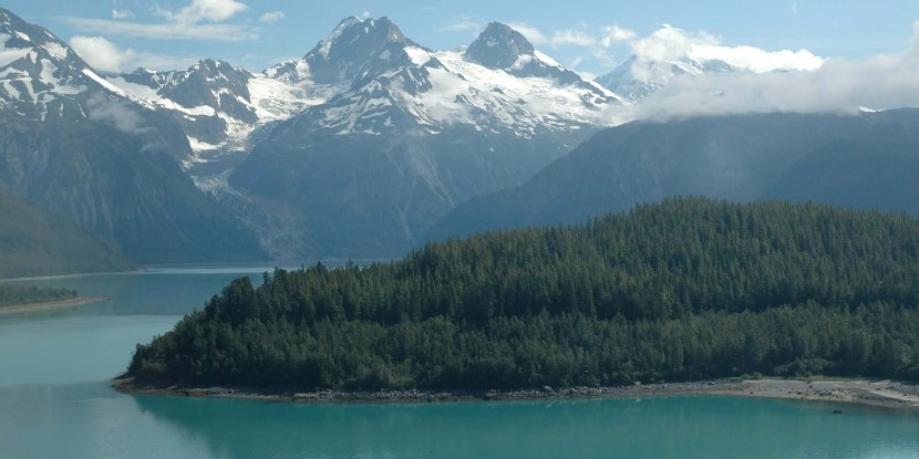 Lituya Bay, a part of Glacier Bay National Park and Preserve