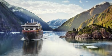 Sail with MS Roald Amundsen into the Tracy Arm Fjord and explore the last frontier - Alaska.