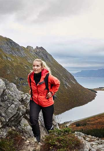 Hurtigruten Expedition Team hike in Norway