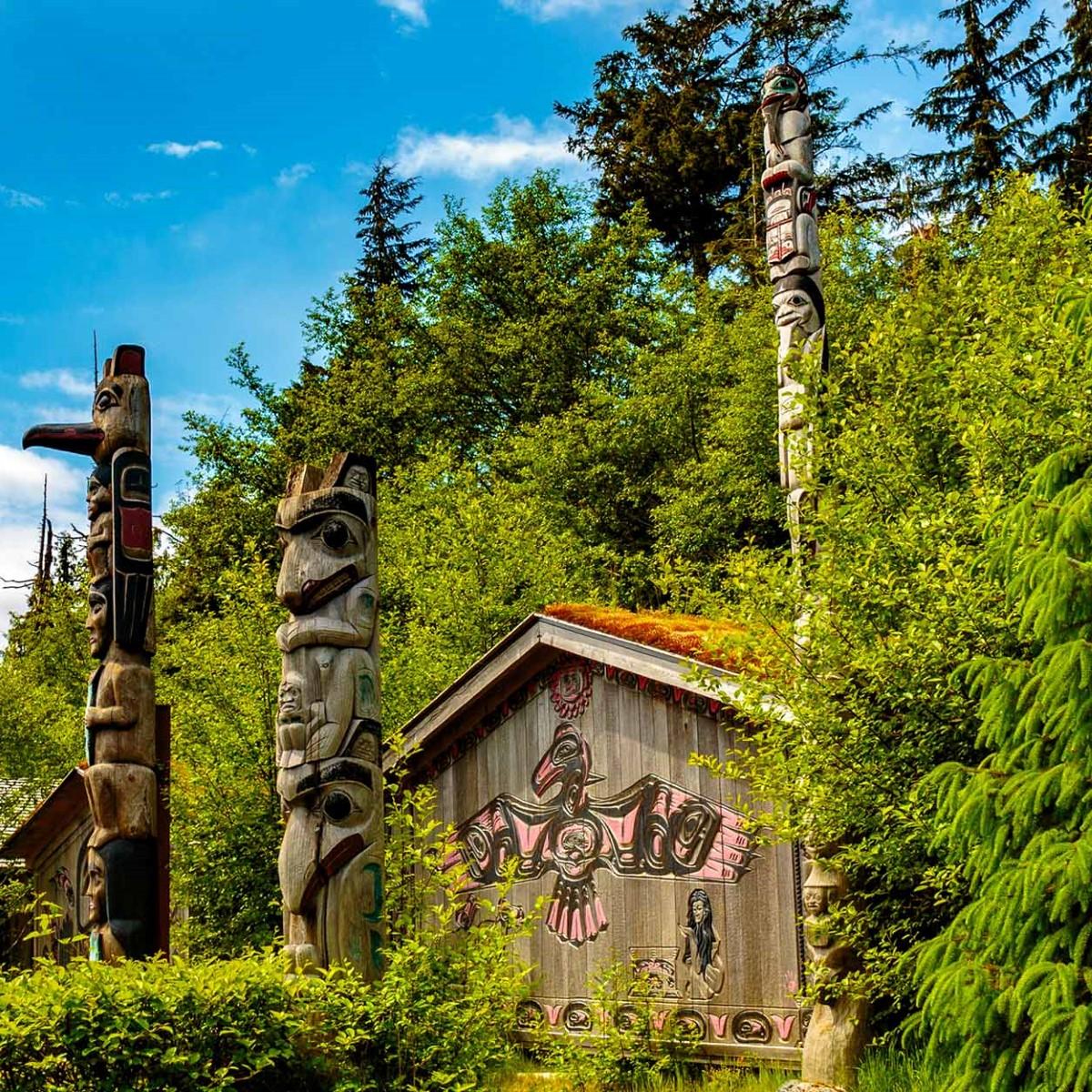 City Tour Ault Park: Potlatch City Tour With Totem Bight State Park