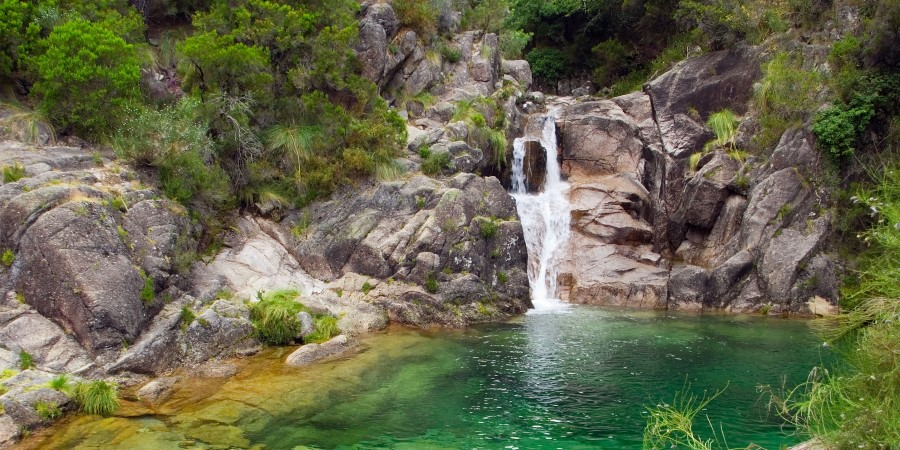 The Arado Waterfalls, Gerês National Park, Portugal.