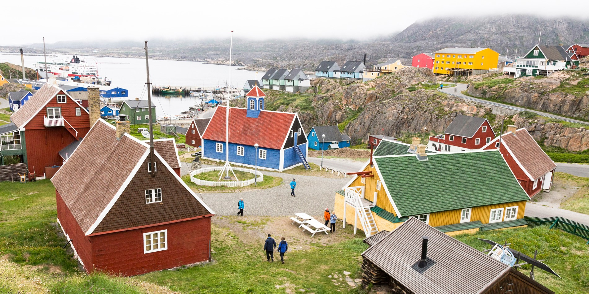 View over Sisimiut