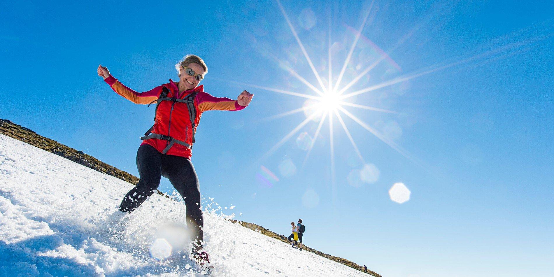 Outdoor Activities And Hikes Winter Hurtigruten