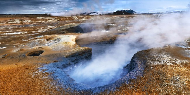 Discover the amazing volcanic landscape of Iceland