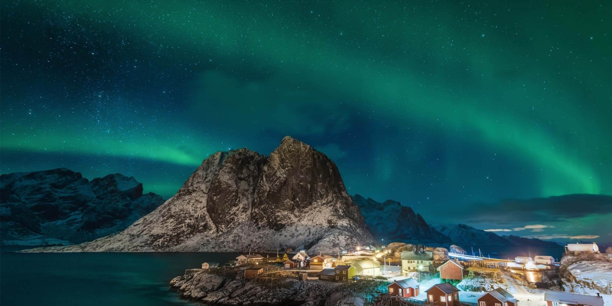 how to take a photo of northern lights