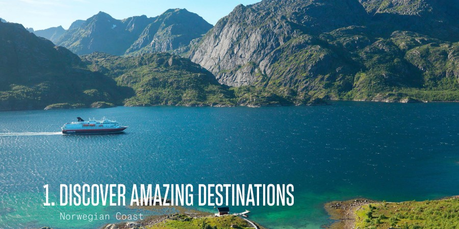 Discover amazing destinations like the Norwegian Coast