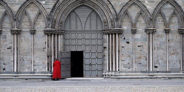 The Nidaros Cathedral in Trondheim.