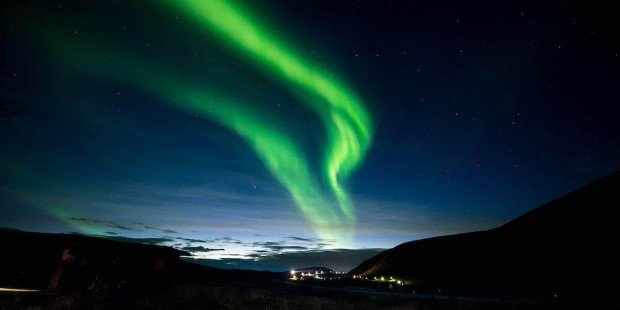 From October to March, chances of seeing the Northern Lights above the Arctic Circle are high.