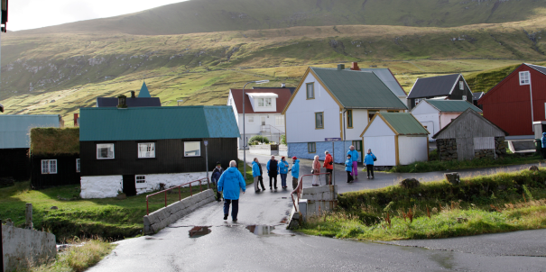With just 15,000 residents Tórshavn is one of the smallest capitals in the world.
