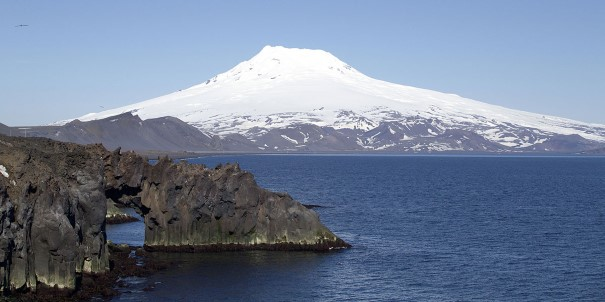 The Norwegian island of Jan Mayen is one of the most isolated places in the world.