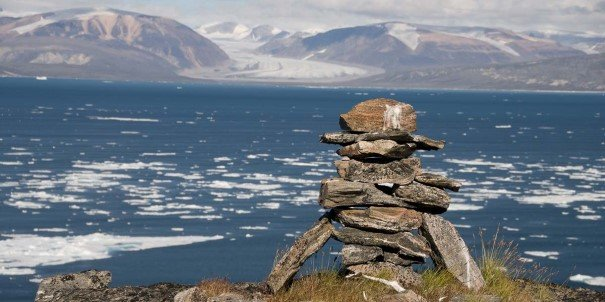 Come ashore and compare life in a settlement in the Canadian Arctic with what you have seen in Greenland.