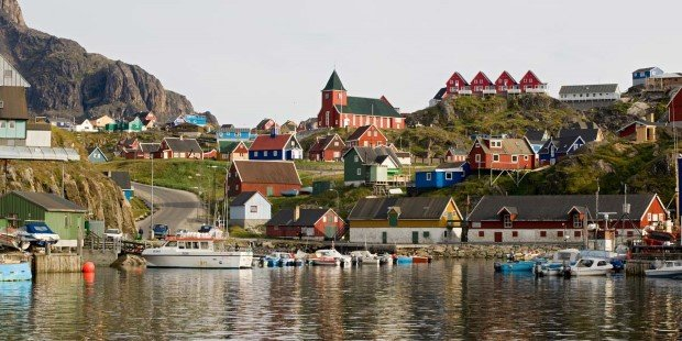Come ashore and explore the modern town of Sisimiut.