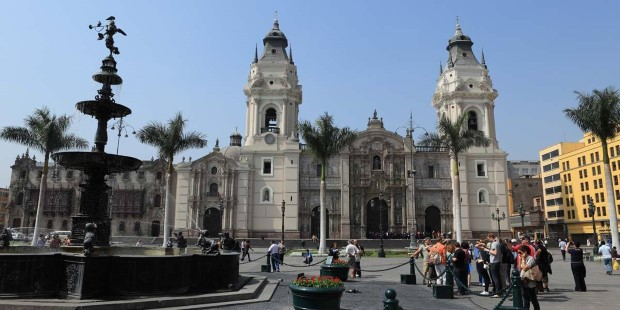 The city of Lima is steeped in history.