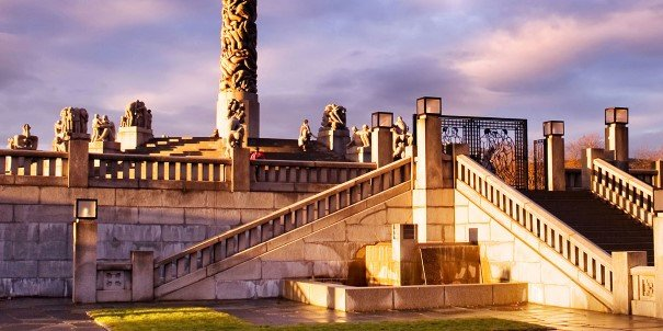 The Vigeland Park in Oslo.