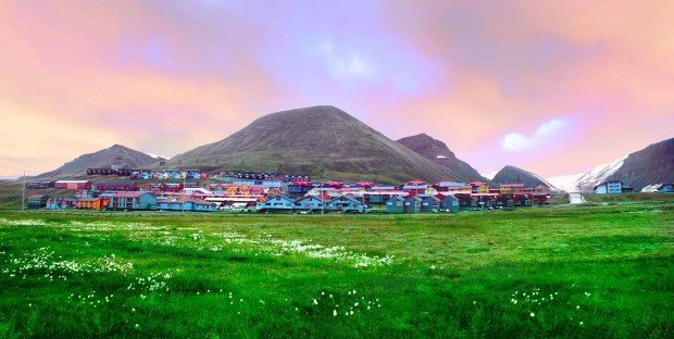 Longyearbyen, truly a city for adventurers.