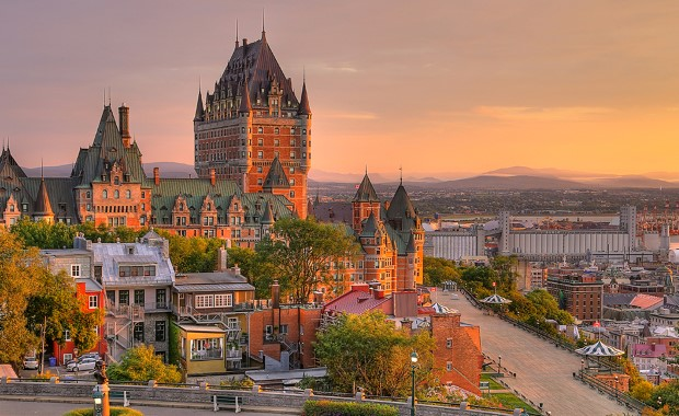 Québec City is a UNESCO World Heritage site with a rich history dating back to the 1600's.