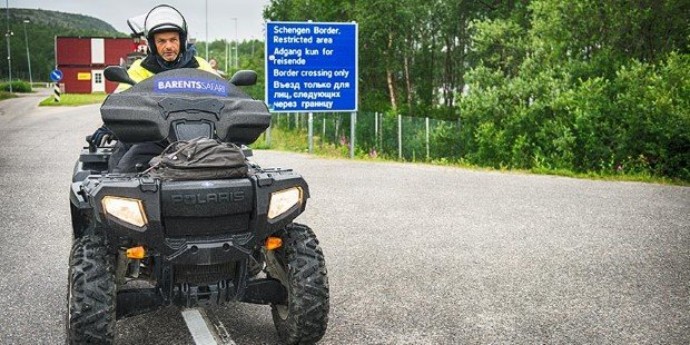 Join an ATV excursion to the Russian border.