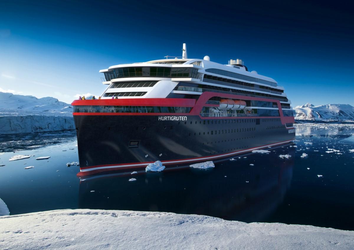 Hurtigruten Worlds First Hybrid Expedition Vessel In Antarctica  Hurtigruten